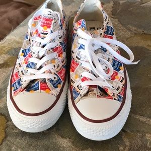 Converse All Star Low Top Andy Warhol Soup